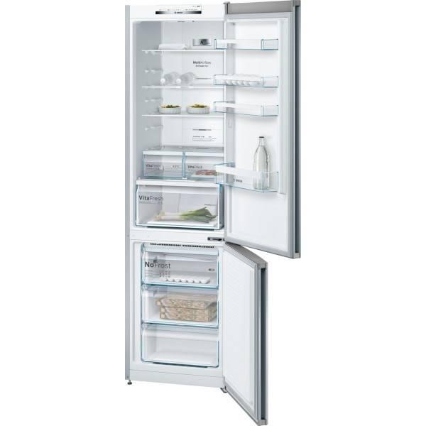 Kombinácia chladničky s mrazničkou Bosch KGN39VL45 Inoxlook