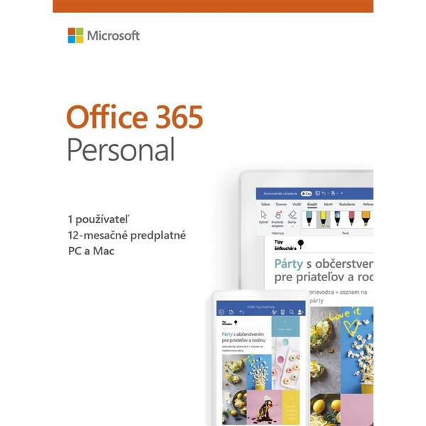 Software Microsoft Office 365 Personal SK (QQ2-00791)