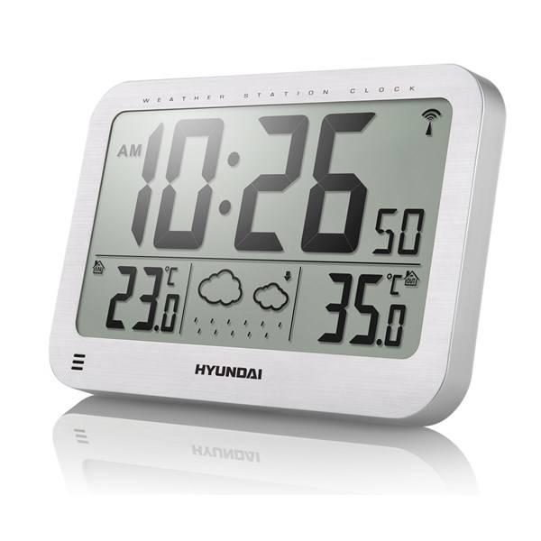 Meteorologická stanice Hyundai WS 2331 stříbrná