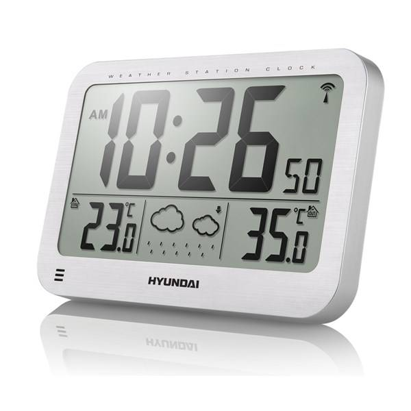 Meteorologická stanica Hyundai WS 2331 strieborná