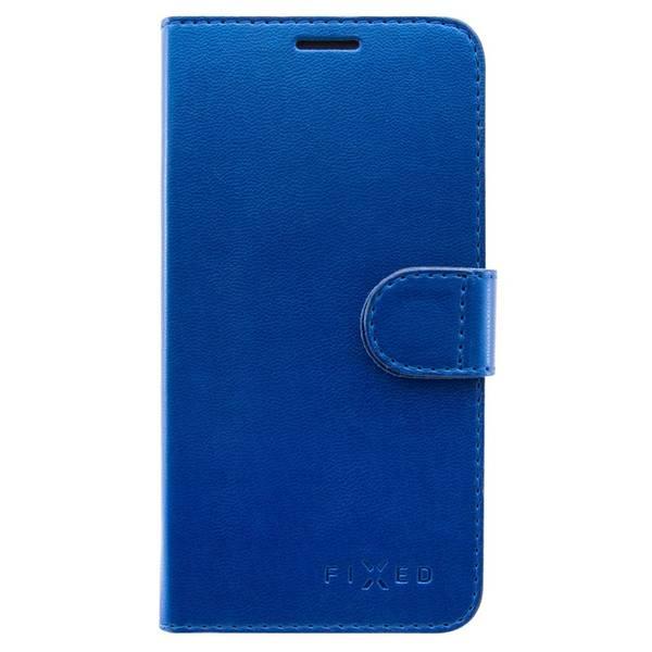 Pouzdro na mobil flipové FIXED FIT Shine pro Huawei P Smart (FIXFIT-275-BL) modré (vrácené zboží 8919017437)