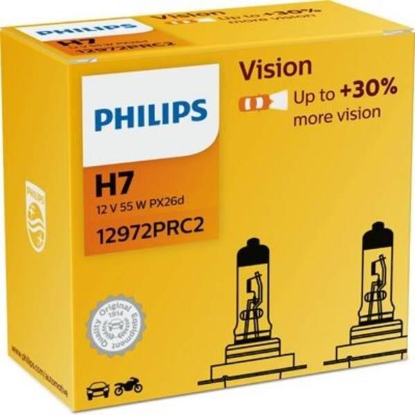 Autožárovka Philips Vision H7, 2ks (12972PRC2)