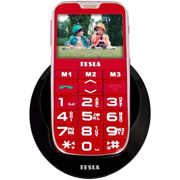 Mobilní telefon Tesla SimplePhone A50 (TAMBPSNA50RD) červený (poškozený obal 8119009727)