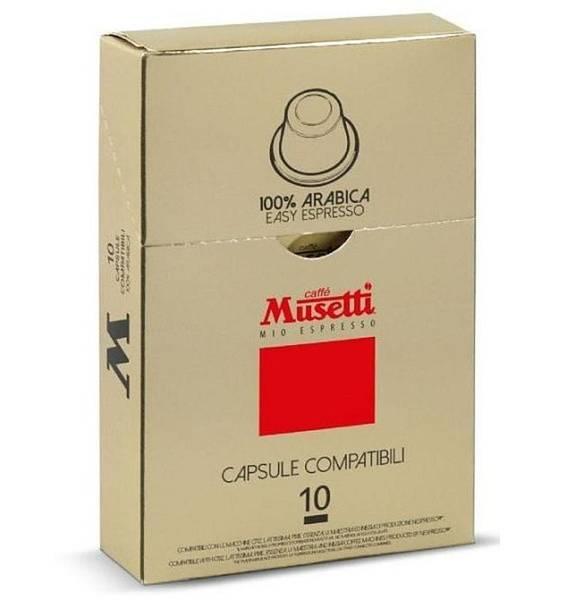 Kapsle pro espressa Musetti 100% Arabica