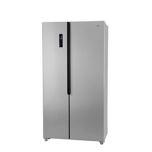 Americká lednice ETA 138890010 stříbrná