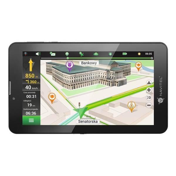 Navigační systém GPS Navitel T700 3G, tablet (C2047028) černá (vrácené zboží 8800299672)