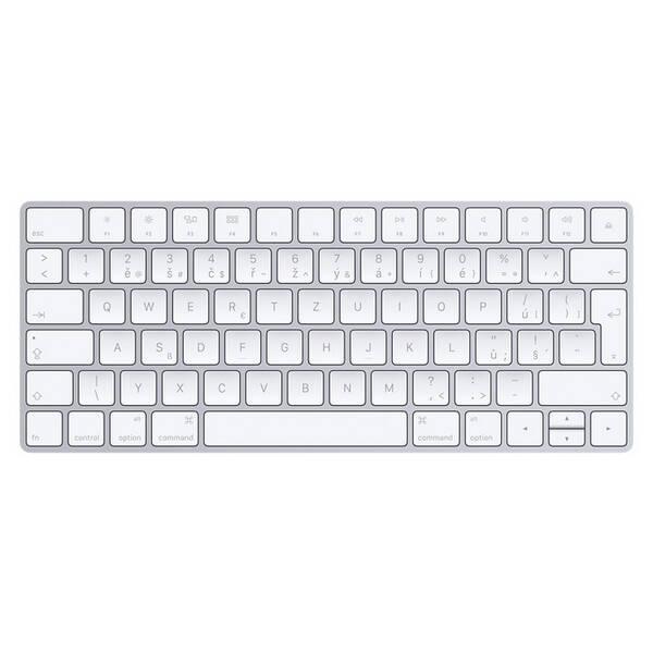 Klávesnice Apple Magic, CZ (MLA22CZ/A) bílá