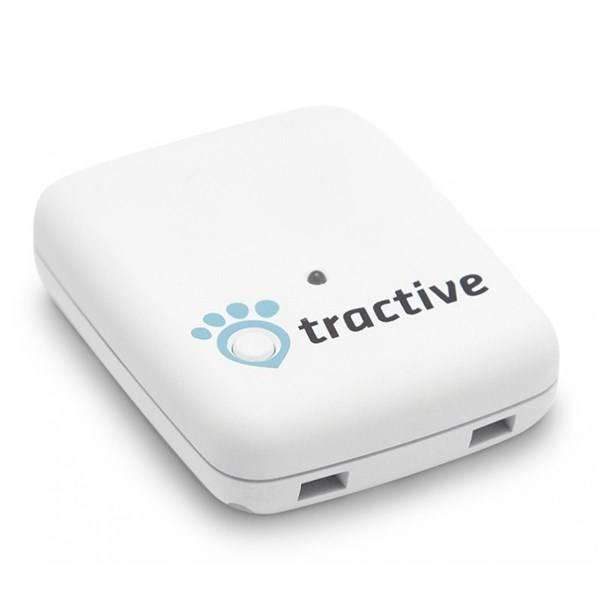 GPS lokátor Tractive tracker pro domácí zvířata bílý (vrácené zboží 8800311202)