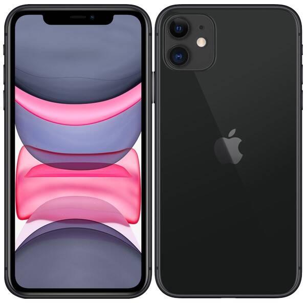 Mobilní telefon Apple iPhone 11 128 GB - Black (MWM02CN/A)