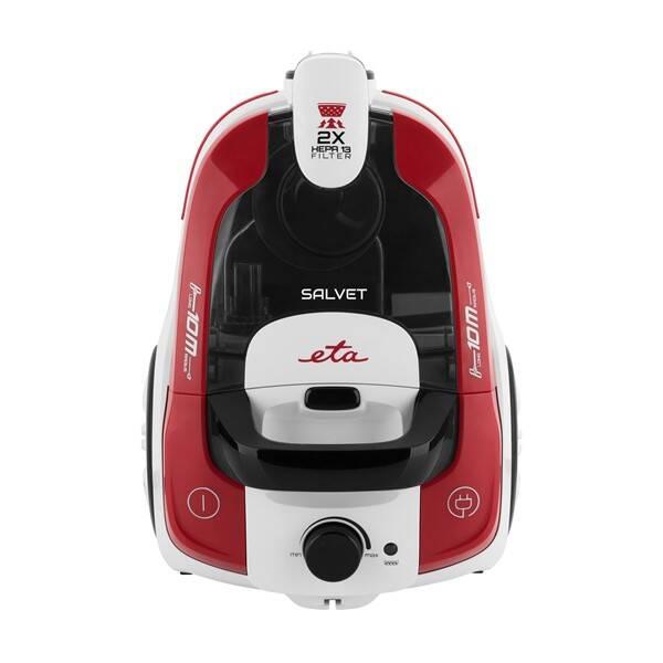 Podlahový vysávač ETA Salvet 0513 90000 biely/červený