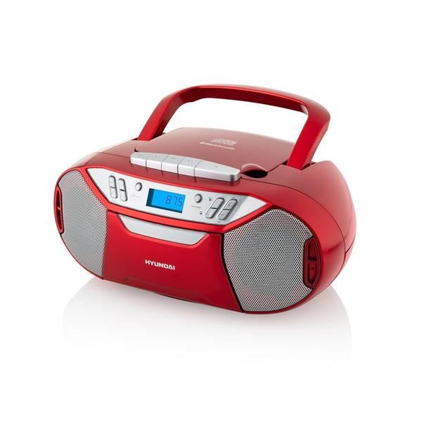 Radiomagnetofon s CD Hyundai TRC 333 AU3BTR červený (vrácené zboží 8800289253)