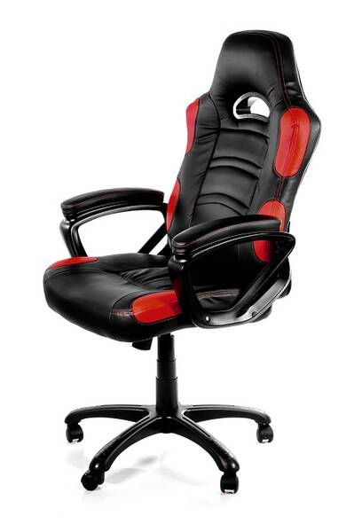 Herní židle Arozzi ENZO (ENZO-RD) černá/červená