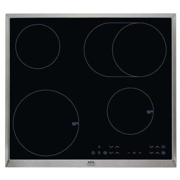 Kombinovaná varná deska AEG Mastery HK634150XB černá/sklo