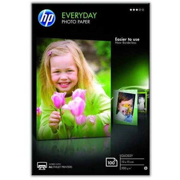 Fotopapír HP Glossy Photo 10x15, 200g, 100 listů (CR757A)