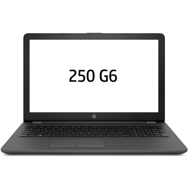Notebook HP 250 G6 (3VJ19EA#BCM) černý