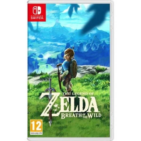 Hra Nintendo SWITCH The Legend of Zelda: Breath of the Wild (NSS695)