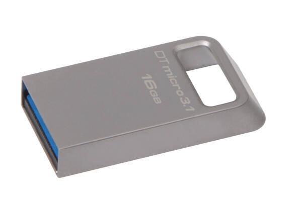 USB Flash Kingston DataTraveler Micro 3.1 16GB (DTMC3/16GB) kovový