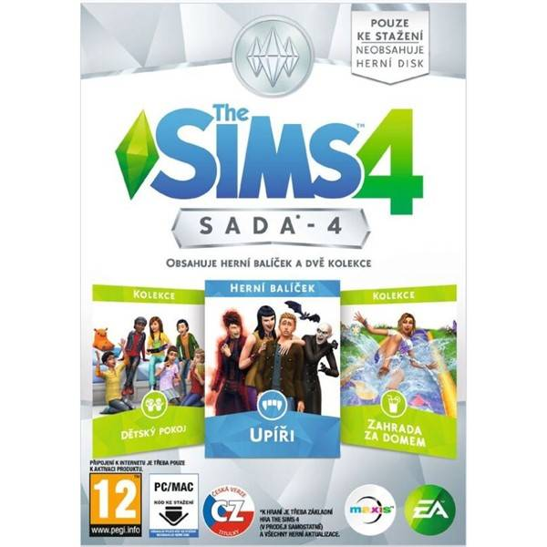 Hra EA PC The Sims 4 Bundle Pack 4 (428977)