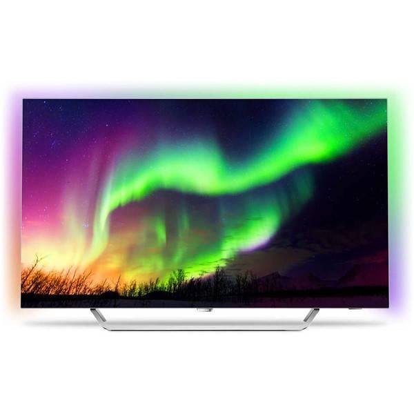 Televize Philips 65OLED873 stříbrná