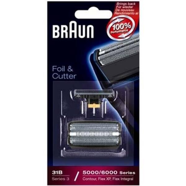 Příslušenství pro holicí strojky Braun CombiPack FlexIntegral - 31B černé