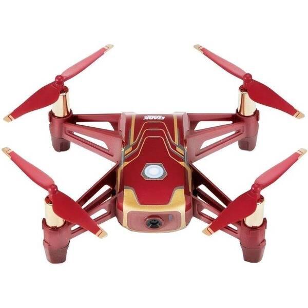 Dron Ryze Tech Tello - Iron Man Edition červený/zlatý