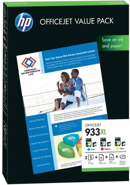 Inkoustová náplň HP No.933XL CMY (CR711AE) (vrácené zboží 8800496488)