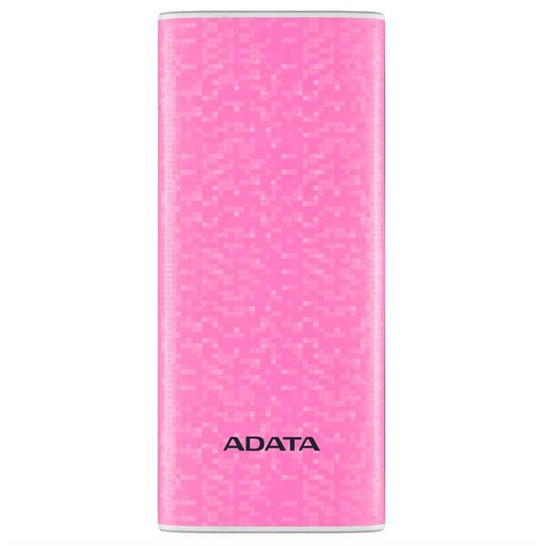 Powerbank ADATA P10000 10000mAh (AP10000-DUSB-CPK) růžová