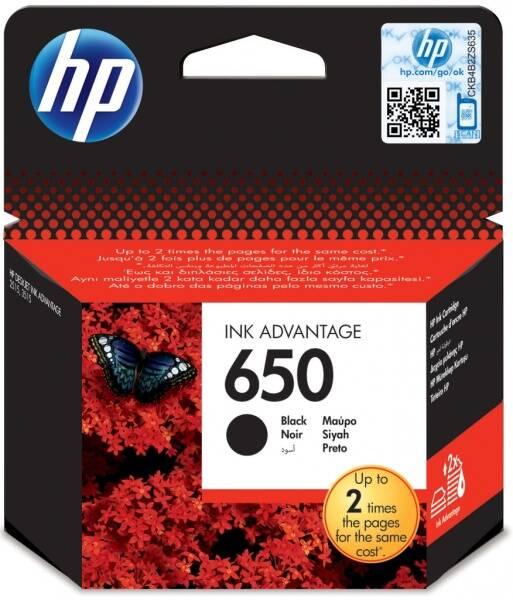 Inkoustová náplň HP No. 650, 360 stran - originální (CZ101AE) černá (vrácené zboží 8800390772)
