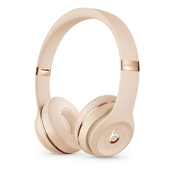 Sluchátka Beats Solo3 Wireless On-Ear - saténově zlatá (MUH42EE/A)