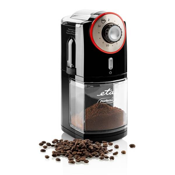 Kávomlýnek ETA Perfetto 0068 90000 černý (poškozený obal 2100006202)