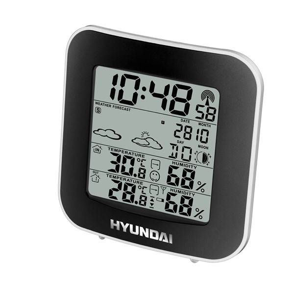 Meteorologická stanica Hyundai WS 8236 čierna/strieborná