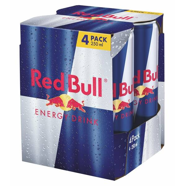 Red Bull Energy drink 4 x 250 ml