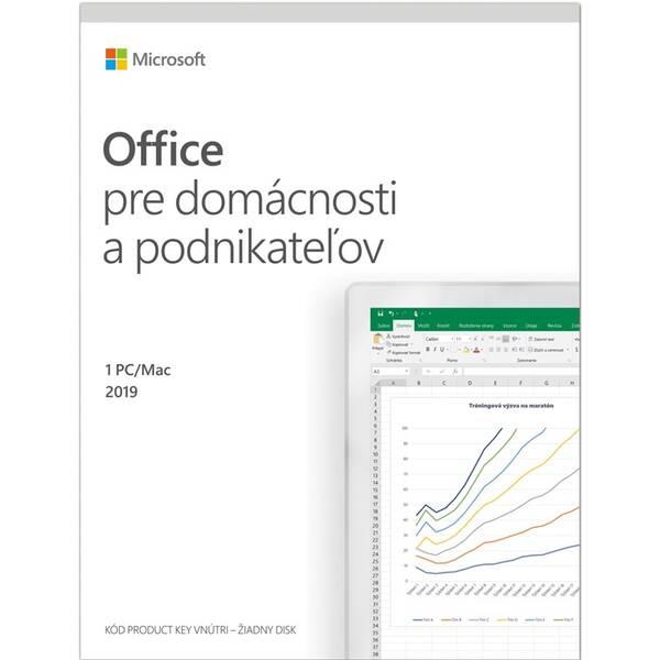 Software Microsoft Office 2019 pre domácnosti a podnikatelov SK (T5D-03323)