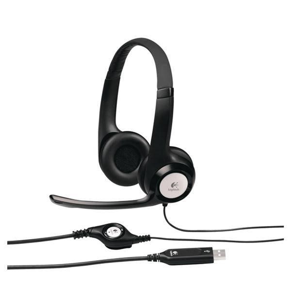 Headset Logitech H390 USB (981-000406) černý