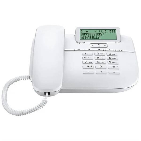 Domácí telefon Siemens Gigaset DA611 (S30350-S212-R122) bílý (vrácené zboží 8800701486)