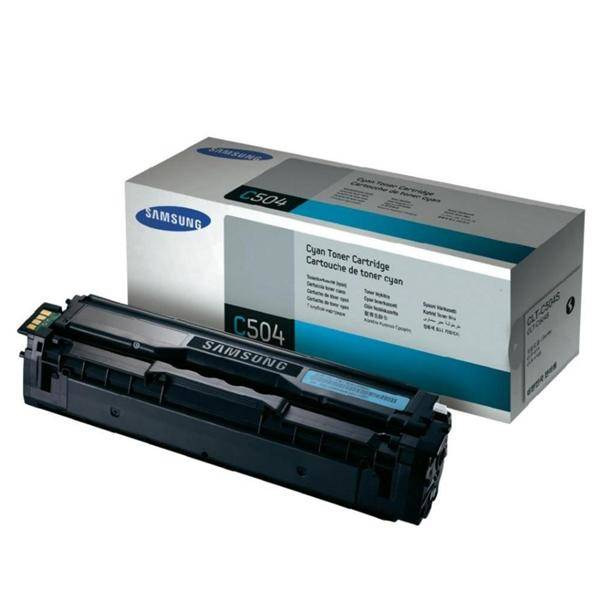 Toner Samsung CLT-C504S, 1,8K stran (CLT-C504S) modrý