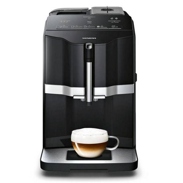 Espresso Siemens EQ.3 TI301209RW černé/stříbrné