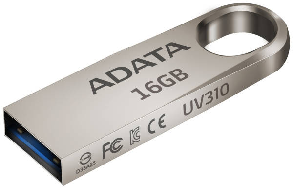 USB Flash ADATA UV310 16GB (AUV310-16G-RGD) kovový