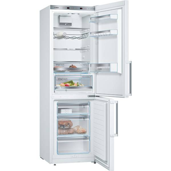 Chladnička s mrazničkou Bosch KGE366W4P bílá