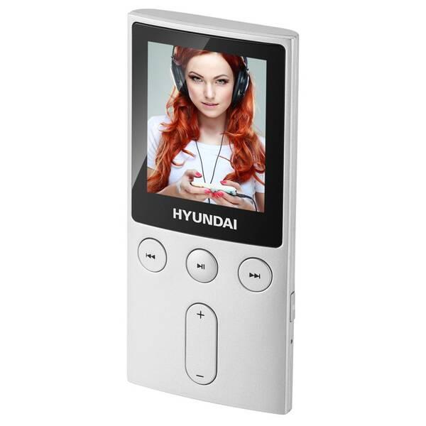 MP3 prehrávač Hyundai MPC 501 GB8 FM S strieborný
