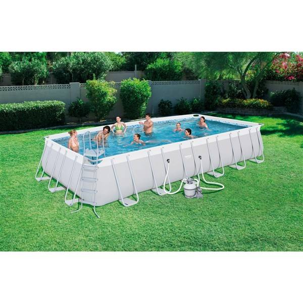 Bazén Bestway Steel Frame Pool 732 x 366 x 132 cm, 56475