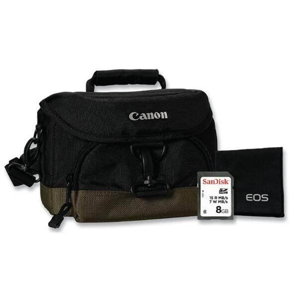 Příslušenství pro fotoaparáty Canon CAMERA ACC KIT SD 8GB+100EG+LC (0033X090)