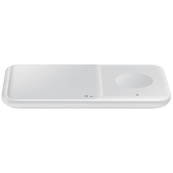 Bezdrátová nabíječka Samsung Duo Pad, 9W, bez kabelu (EP-P4300BWEGEU) bílá