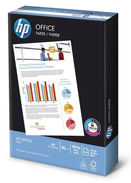Papiere do tlačiarne HP OFFICE A4 Papír 80g, A4, 500 listů (187763)