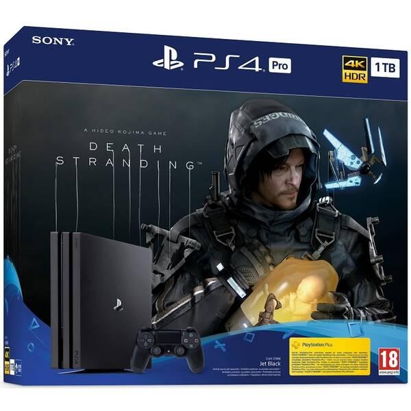 Herní konzole Sony PlayStation 4 Pro 1 TB + Death Stranding (PS719314707)