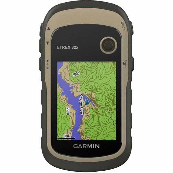Cyklopočítač s GPS Garmin Garmin eTrex 32x Europe46 (010-02257-90) černá/hnědá