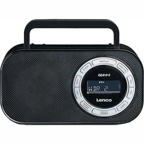 Radiopřijímač Lenco PR-2700 černý (vrácené zboží 8800203356)