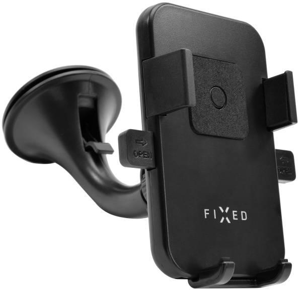 Držák na mobil FIXED FIX2 s přísavkou, šířka 6,5 - 8,5 cm (FIXH-FIX2) černý (poškozený obal 2100007086)