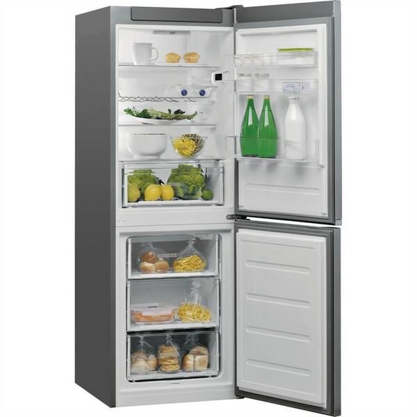 Kombinácia chladničky s mrazničkou Whirlpool W5 721E OX nerez