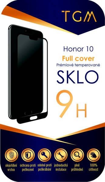 Ochranné sklo TGM Full Cover pro Honor 10 (TGMHON10BL) černé